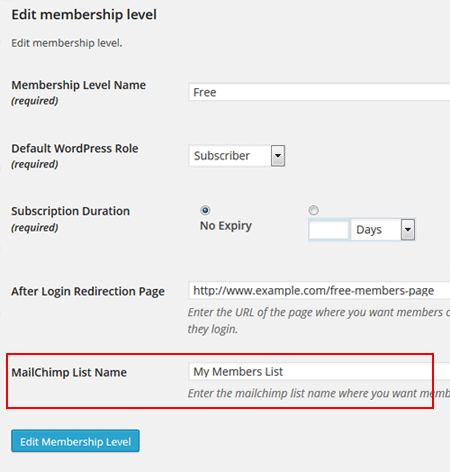 simple-membership-specify-mailchimp-list-name