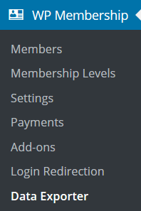 membership-data-exporter-addon-menu-link