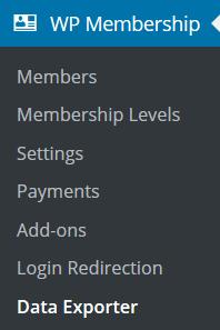 membership-data-exporter-addon-menu-link