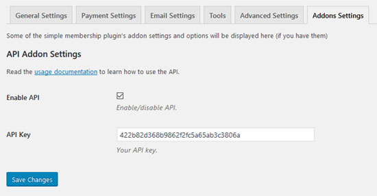 enabling-the-simple-membership-api-in-settings