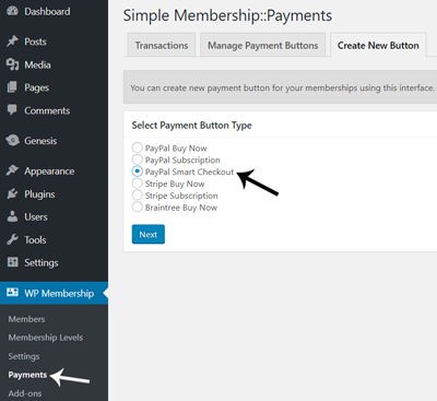 simple-membership-paypal-smart-checkout-buttons