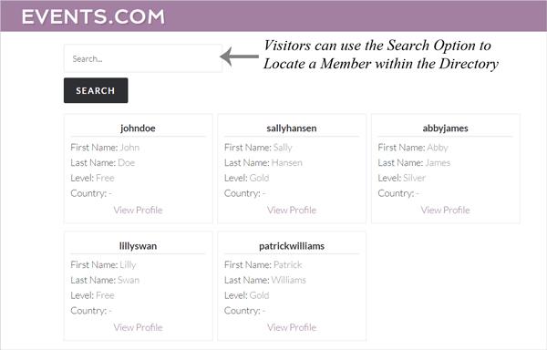 member-directory-listing