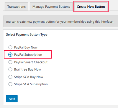 creating-paypal-subscription-recurring-payment-button